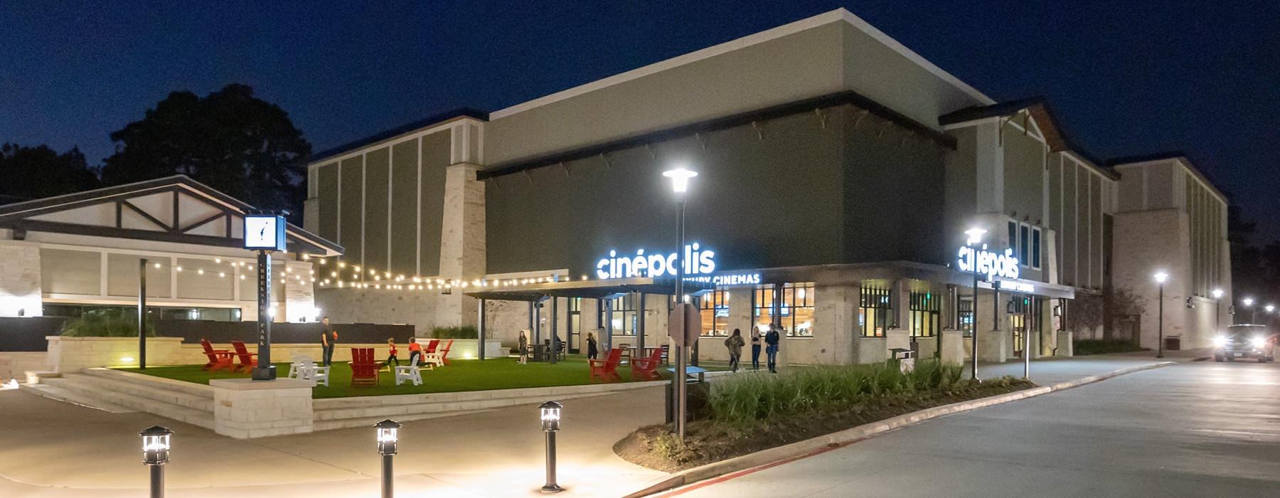 nearby Cinepolis movie theater